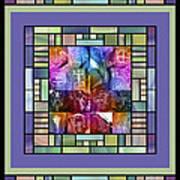 Jornada Mogollon Kaleidoscope Art Print
