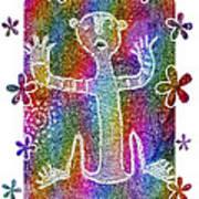 Jornada Rave II Art Print