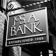 Jos. A. Bank Art Print