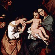 Jos De Ribera Art Print