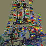 Jose Gaspar Ship Vertical Work Art Print