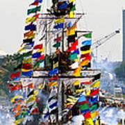 Jose Gasparilla Ship Work A Art Print