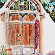 Josefina's Old Gate Art Print