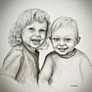 Joseph And Michael Art Print