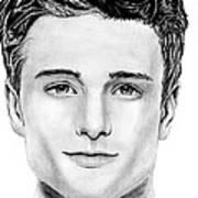 Josh Hutcherson Art Print