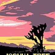 Joshua Tree National Park Vintage Poster Art Print