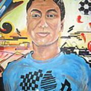 Josias 1991-2012 Art Print by Erik Franco