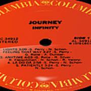Journey - Infinity Side 1 Art Print