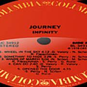Journey - Infinity Side 2 Art Print