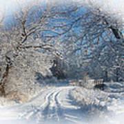 Journey Into Winter Art Print by Teresa Schomig