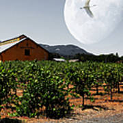 Journey Through The Valley Of The Moon 5d24485 Square Art Print