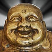 Jovial Buddha Art Print