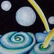Jovian Gretings  Art Print
