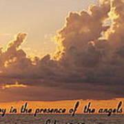 Joy Of The Angels Art Print