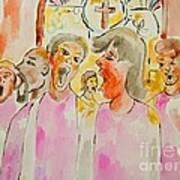 Joyful Noise Art Print by Sidney Holmes