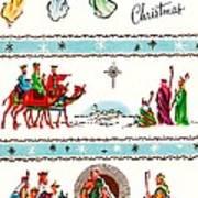 Joyous Christmas Art Print