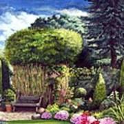 Joy's Garden Art Print