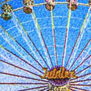 Jubilee Ferris Wheel Art Print