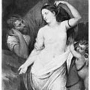 Judgement Of Paris Art Print