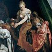 Judith And Holofernes Art Print