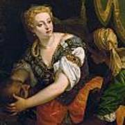 Judith With The Head Of Holofernes Art Print