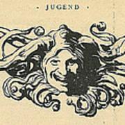 Jugend Jester Art Print