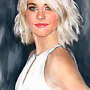 Julianne Hough Art Print
