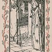 Juliet From Romeo And Juliet Art Print