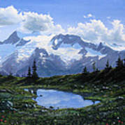 Jumbo Pass Pond Art Print