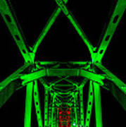 Junction Bridge Art Print