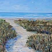 June Beach Hilton Head Art Print