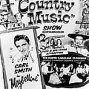 June Carter Cash Art Print by Silver Screen