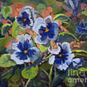 June In The Garden Art Print