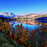 June Lake California Sunrise Art Print