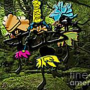 Jungle Dancers Art Print