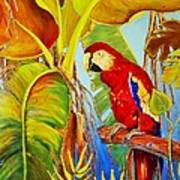 Jungle Flame Art Print