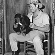 Jungle Jim, Johnny Weissmuller Art Print