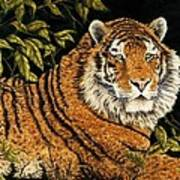 Jungle Monarch Art Print