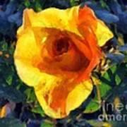 Jungle Rose Art Print