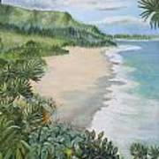 Jungle Waves Art Print