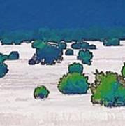 Juniper Field Art Print