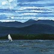 Juniper Island Lake Champlain Vt/ny Art Print