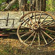 Junk Wagon Art Print