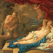 Jupiter And Antiope Art Print