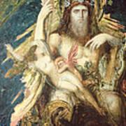 Jupiter And Semele  Art Print