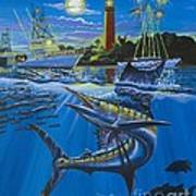 Jupiter Boat Parade Art Print