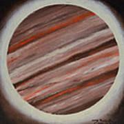 Jupiter Spectral Art Print