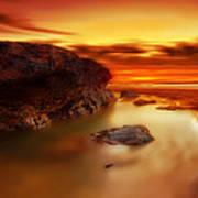 Jupiter Sunrise Art Print by Mark Leader