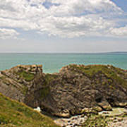 Jurassic Coast At Lulworth Art Print