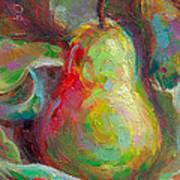 Just A Pear - Impressionist Still Life Art Print